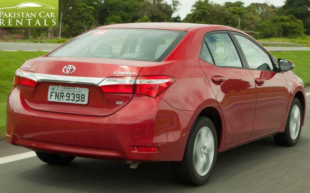 Rent Cars Islamabad