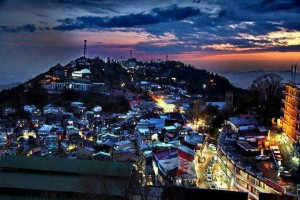 Murree at night